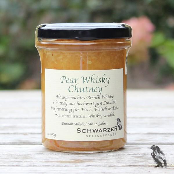 Pear Whisky Chutney